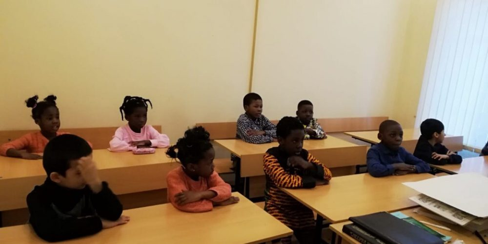 Открытие новой педагогической группы для детей беженцев