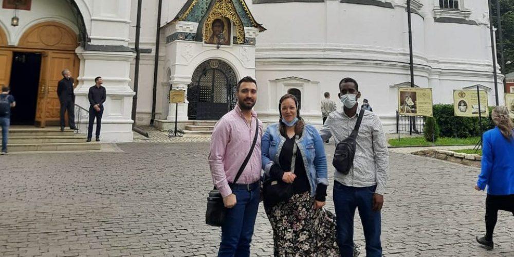Экскурсия в Новоспасский монастырь