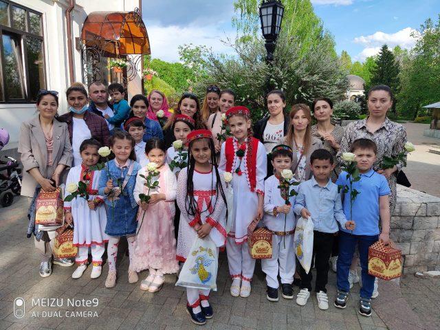 В гостях у храма Евфросинии Московской