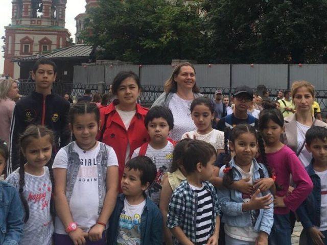 Экскурсия в Александровский сад